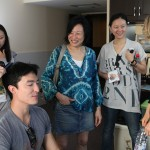 Janet Yang in Trailer with D. Henney