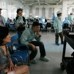 Janet Yang with D. Hsia in video village